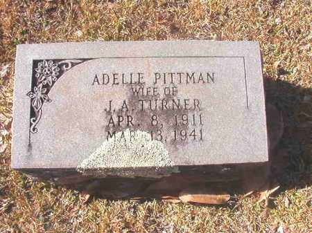 TURNER, ADELLE - Dallas County, Arkansas | ADELLE TURNER - Arkansas Gravestone Photos