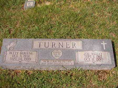 TURNER, JOE WESLEY - Dallas County, Arkansas | JOE WESLEY TURNER - Arkansas Gravestone Photos