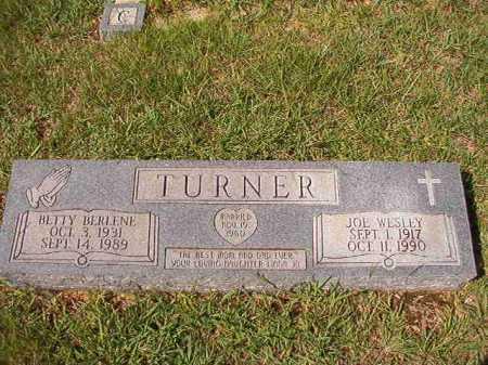 TURNER, BETTY BERLENE - Dallas County, Arkansas | BETTY BERLENE TURNER - Arkansas Gravestone Photos