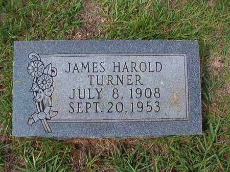 TURNER, JAMES HAROLD - Dallas County, Arkansas | JAMES HAROLD TURNER - Arkansas Gravestone Photos
