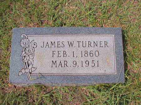 TURNER, JAMES W - Dallas County, Arkansas | JAMES W TURNER - Arkansas Gravestone Photos