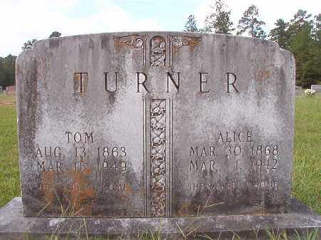 TURNER, TOM - Dallas County, Arkansas | TOM TURNER - Arkansas Gravestone Photos