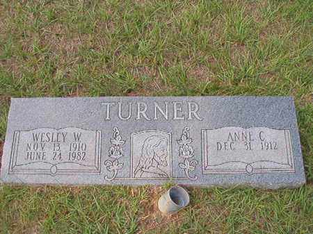 TURNER, WESLEY W - Dallas County, Arkansas | WESLEY W TURNER - Arkansas Gravestone Photos