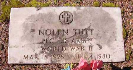 TUTT (VETERAN WWII), NOLEN - Dallas County, Arkansas | NOLEN TUTT (VETERAN WWII) - Arkansas Gravestone Photos