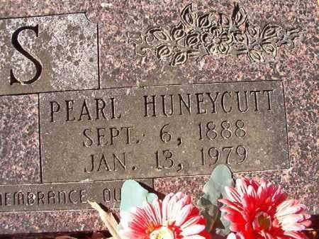 HUNEYCUTT VOSS, PEARL - Dallas County, Arkansas | PEARL HUNEYCUTT VOSS - Arkansas Gravestone Photos