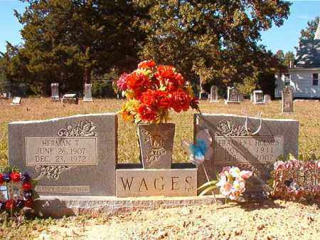 WAGES, FRANCES L - Dallas County, Arkansas | FRANCES L WAGES - Arkansas Gravestone Photos