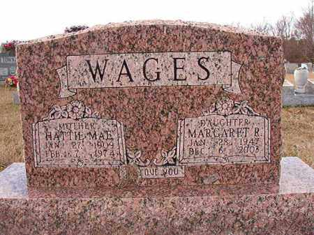 WAGES, HATTIE MAE - Dallas County, Arkansas | HATTIE MAE WAGES - Arkansas Gravestone Photos