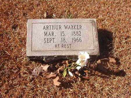 WALKER, ARTHUR - Dallas County, Arkansas | ARTHUR WALKER - Arkansas Gravestone Photos
