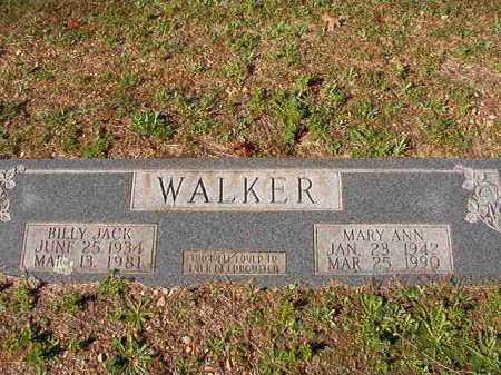 WALKER, BILLY JACK - Dallas County, Arkansas | BILLY JACK WALKER - Arkansas Gravestone Photos