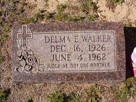WALKER, DELMA E - Dallas County, Arkansas | DELMA E WALKER - Arkansas Gravestone Photos