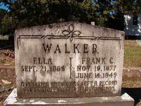 WALKER, ELLA - Dallas County, Arkansas | ELLA WALKER - Arkansas Gravestone Photos