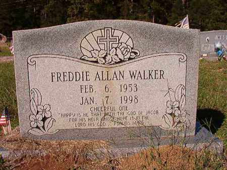 WALKER, FREDDIE ALLAN - Dallas County, Arkansas | FREDDIE ALLAN WALKER - Arkansas Gravestone Photos