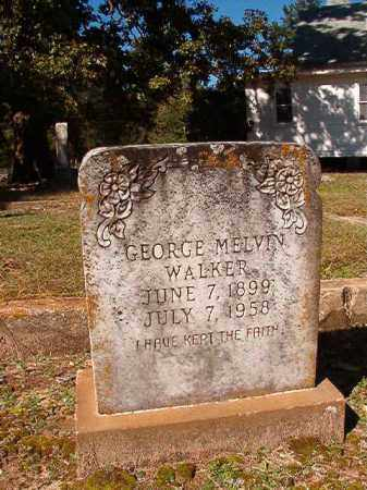 WALKER, GEORGE MELVIN - Dallas County, Arkansas | GEORGE MELVIN WALKER - Arkansas Gravestone Photos
