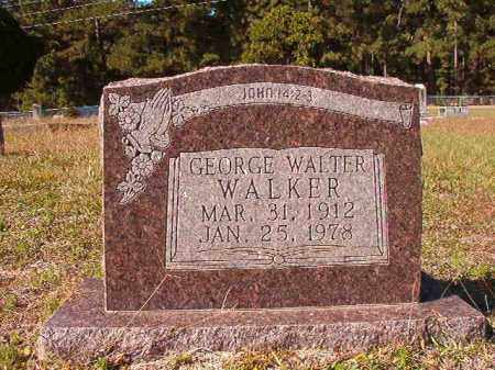 WALKER, GEORGE WALTER - Dallas County, Arkansas | GEORGE WALTER WALKER - Arkansas Gravestone Photos