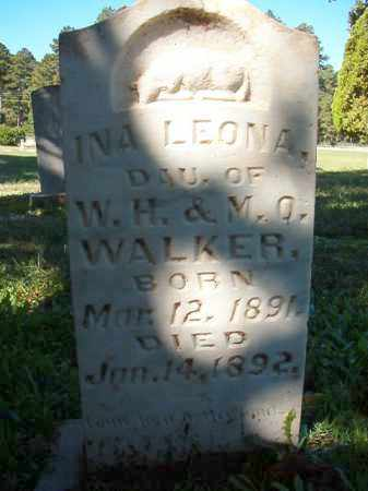 WALKER, INA LEONA - Dallas County, Arkansas | INA LEONA WALKER - Arkansas Gravestone Photos
