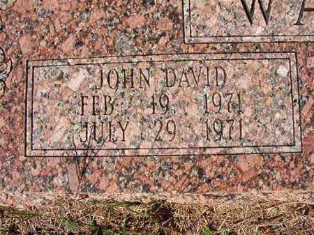 WALKER, JOHN DAVID - Dallas County, Arkansas | JOHN DAVID WALKER - Arkansas Gravestone Photos