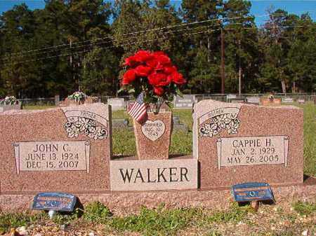 WALKER, CAPPIE H - Dallas County, Arkansas | CAPPIE H WALKER - Arkansas Gravestone Photos