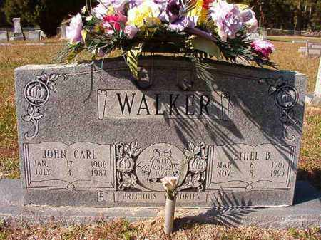 WALKER, JOHN CARL - Dallas County, Arkansas | JOHN CARL WALKER - Arkansas Gravestone Photos
