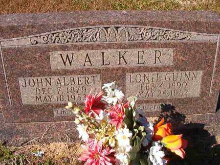 WALKER, JOHN ALBERT - Dallas County, Arkansas | JOHN ALBERT WALKER - Arkansas Gravestone Photos