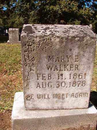 WALKER, MARY E - Dallas County, Arkansas | MARY E WALKER - Arkansas Gravestone Photos