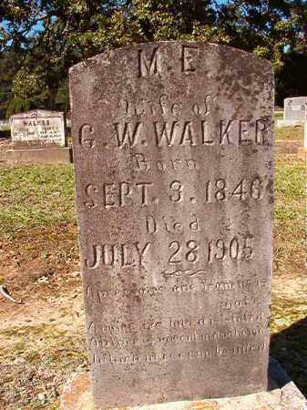 WALKER, M E - Dallas County, Arkansas | M E WALKER - Arkansas Gravestone Photos