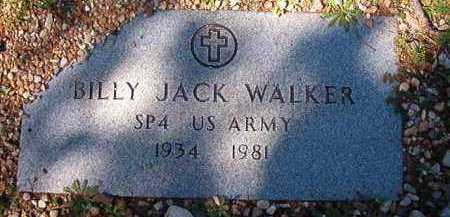 WALKER (VETERAN), BILLY JACK - Dallas County, Arkansas | BILLY JACK WALKER (VETERAN) - Arkansas Gravestone Photos