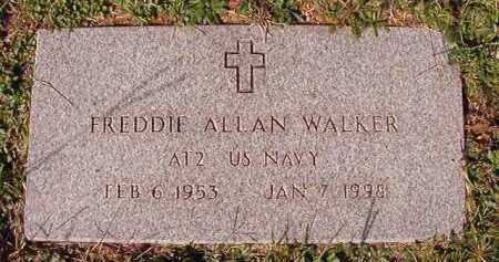 WALKER (VETERAN), FREDDIE ALLAN - Dallas County, Arkansas | FREDDIE ALLAN WALKER (VETERAN) - Arkansas Gravestone Photos