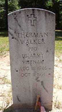 WALKER (VETERAN VIET), THERMAN - Dallas County, Arkansas | THERMAN WALKER (VETERAN VIET) - Arkansas Gravestone Photos