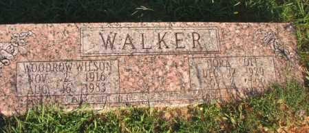WALKER, NORA - Dallas County, Arkansas | NORA WALKER - Arkansas Gravestone Photos