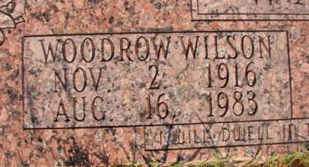 WALKER, WOODROW WILSON - Dallas County, Arkansas | WOODROW WILSON WALKER - Arkansas Gravestone Photos
