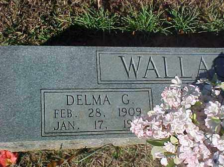 GREEN WALLACE, DELMA - Dallas County, Arkansas | DELMA GREEN WALLACE - Arkansas Gravestone Photos