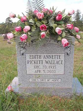 WALLACE, EDITH ANNETTE - Dallas County, Arkansas | EDITH ANNETTE WALLACE - Arkansas Gravestone Photos