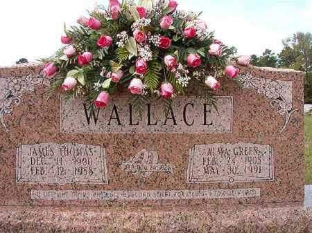 GREEN WALLACE, ALMA - Dallas County, Arkansas | ALMA GREEN WALLACE - Arkansas Gravestone Photos
