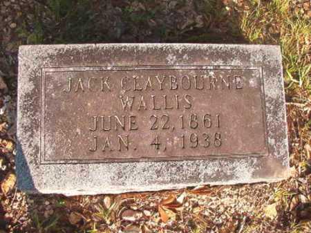 WALLIS, JACK CLAYBOURNE - Dallas County, Arkansas | JACK CLAYBOURNE WALLIS - Arkansas Gravestone Photos