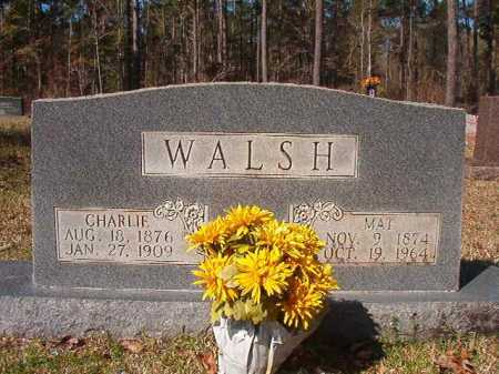WALSH, CHARLIE - Dallas County, Arkansas | CHARLIE WALSH - Arkansas Gravestone Photos