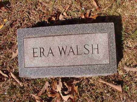WALSH, ERA - Dallas County, Arkansas | ERA WALSH - Arkansas Gravestone Photos