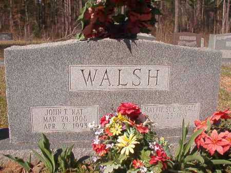 "WALSH, JOHN T ""RAT"" - Dallas County, Arkansas 
