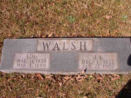 WALSH, LOU - Dallas County, Arkansas | LOU WALSH - Arkansas Gravestone Photos
