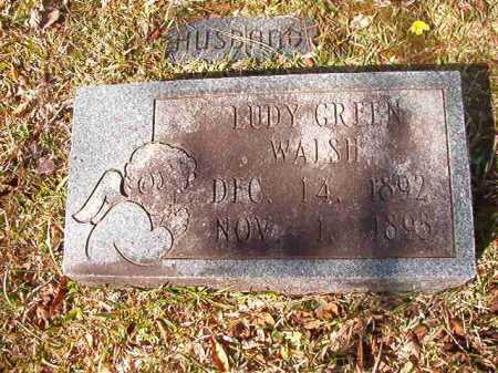 WALSH, LUDY GREEN - Dallas County, Arkansas | LUDY GREEN WALSH - Arkansas Gravestone Photos
