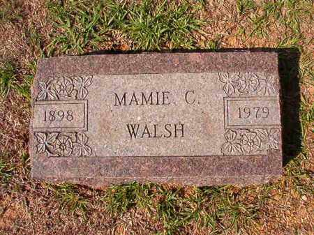 WALSH, MAMIE C - Dallas County, Arkansas | MAMIE C WALSH - Arkansas Gravestone Photos