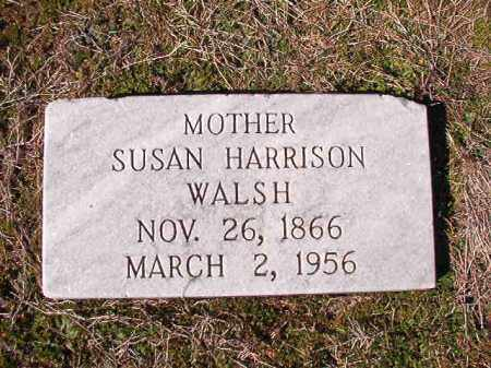 HARRISON WALSH, SUSAN - Dallas County, Arkansas | SUSAN HARRISON WALSH - Arkansas Gravestone Photos
