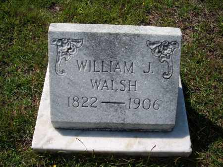 WALSH, WILLIAM J - Dallas County, Arkansas | WILLIAM J WALSH - Arkansas Gravestone Photos