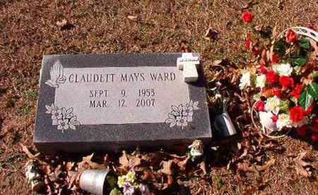 WARD, CLAUDETT - Dallas County, Arkansas | CLAUDETT WARD - Arkansas Gravestone Photos