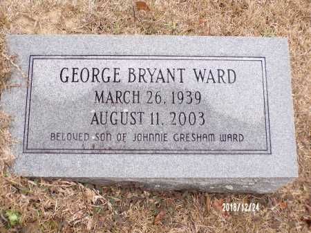 WARD, GEORGE BRYANT - Dallas County, Arkansas | GEORGE BRYANT WARD - Arkansas Gravestone Photos
