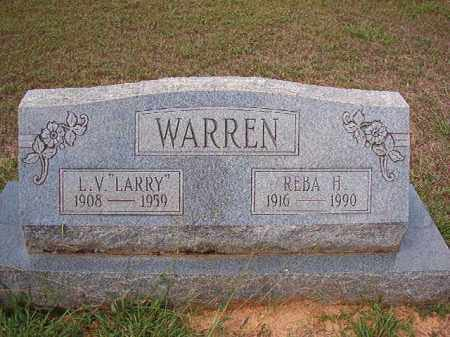 WARREN, REBA H - Dallas County, Arkansas | REBA H WARREN - Arkansas Gravestone Photos