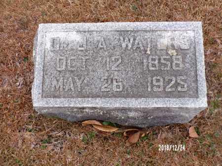 WATERS, DR, J A (BIO) - Dallas County, Arkansas   J A (BIO) WATERS, DR - Arkansas Gravestone Photos