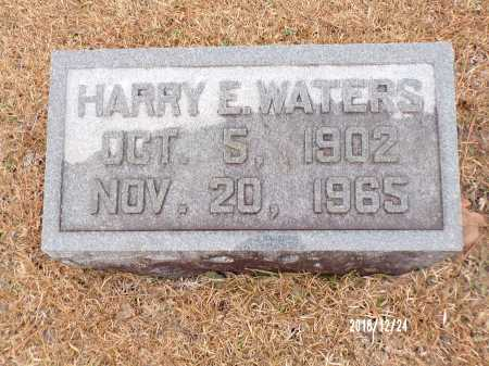 WATERS, HARRY E - Dallas County, Arkansas | HARRY E WATERS - Arkansas Gravestone Photos