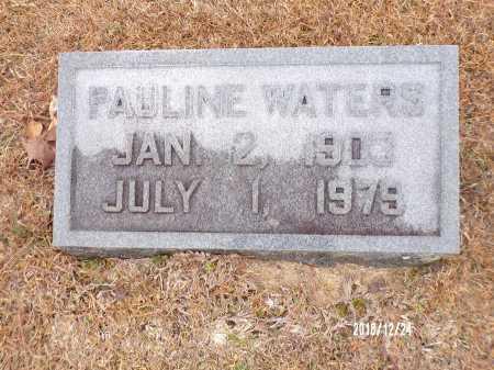 WATERS, PAULINE - Dallas County, Arkansas | PAULINE WATERS - Arkansas Gravestone Photos