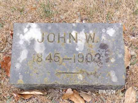WATSON, JOHN W - Dallas County, Arkansas | JOHN W WATSON - Arkansas Gravestone Photos