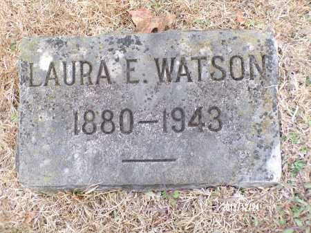 WATSON, LAURA E - Dallas County, Arkansas | LAURA E WATSON - Arkansas Gravestone Photos